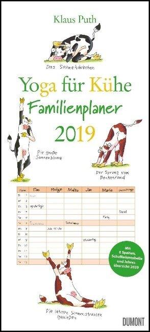 Yoga für Kühe Familienkalender 2019 - Klaus Puth