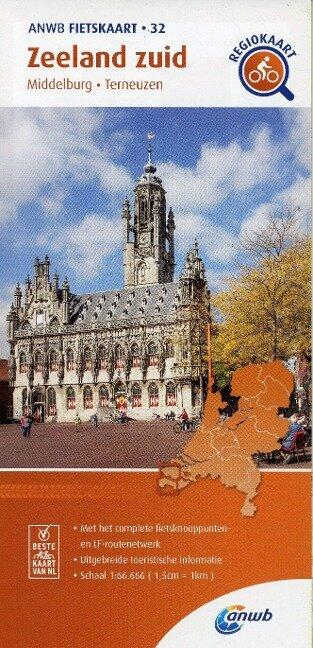 Zeeland zuid (Middelburg / Terneuzen) 1 : 66 000 -