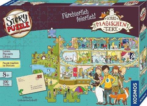 Schule der magischen Tiere - Story Puzzle: Fürchterlich feierlich! -