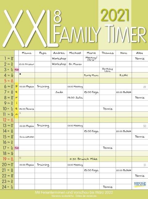 XXL Family Timer 8 2021 -