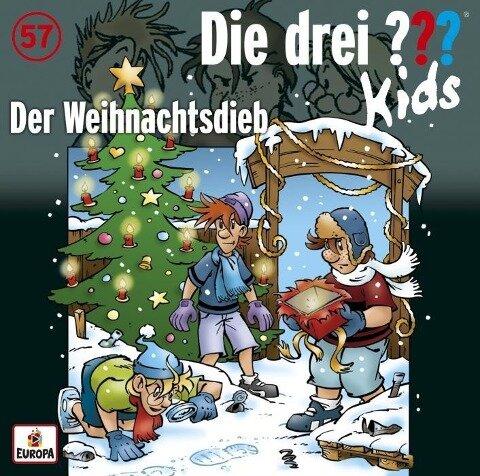 Die drei ??? Kids 57: Der Weihnachtsdieb - Boris Pfeiffer, Ulf Blanck