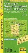 Weserbergland Wander- und Freizeitkarte 1:50.000 -