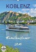 Koblenz Familienplaner (Wandkalender 2019 DIN A2 hoch) - Jutta Heußlein