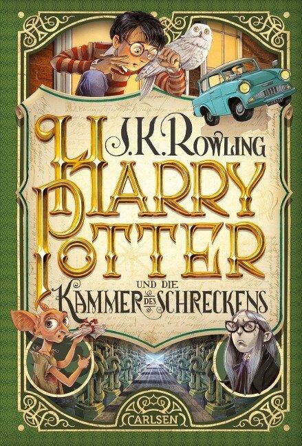 Harry Potter 2 und die Kammer des Schreckens - J. K. Rowling
