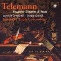 Telemann: Recorder Sonatas & Trios - Lorenzo Cavasanti