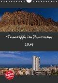 Teneriffa im Panorama (Wandkalender 2019 DIN A4 hoch) - Paul Linden