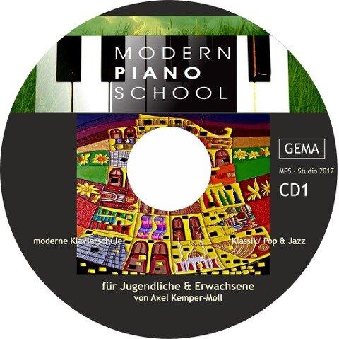 Modern Piano School CD 1 zum Buch - Axel Kemper-Moll