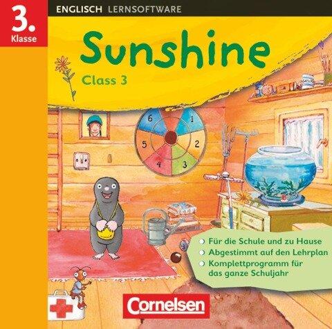 SUNSHINEClass3. 3. Schuljahr. CD-ROM Win 98 SE, ME,2000, XP, Vista -