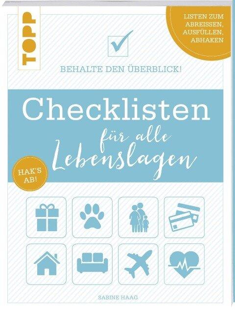 Checklisten für alle Lebenslagen - Sabine Haag