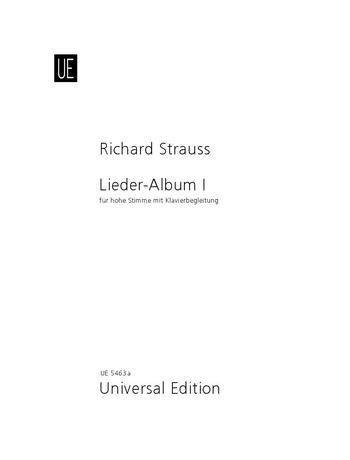 Lieder-Album Band 1 hoch - Richard Strauss