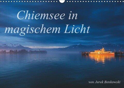 Chiemsee in magischem Licht (Wandkalender 2019 DIN A3 quer) - Jurek Benkowski