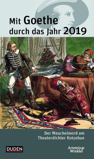 Mit Goethe durch das Jahr 2019 - Jochen Klauß