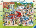 110, 112 - Eilt herbei! 24 Teile Rahmenpuzzle -