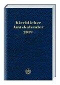 Kirchlicher Amtskalender 2019 - blau -