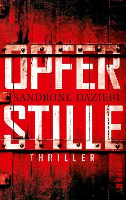 Opferstille - Sandrone Dazieri