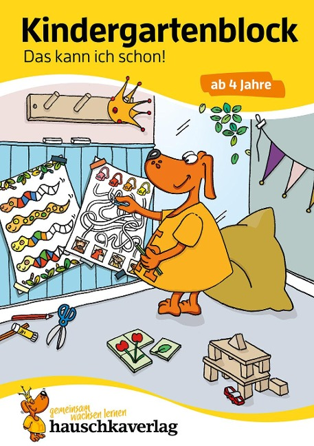 Kindergartenblock - Das kann ich schon! ab 4 Jahre, A5-Block