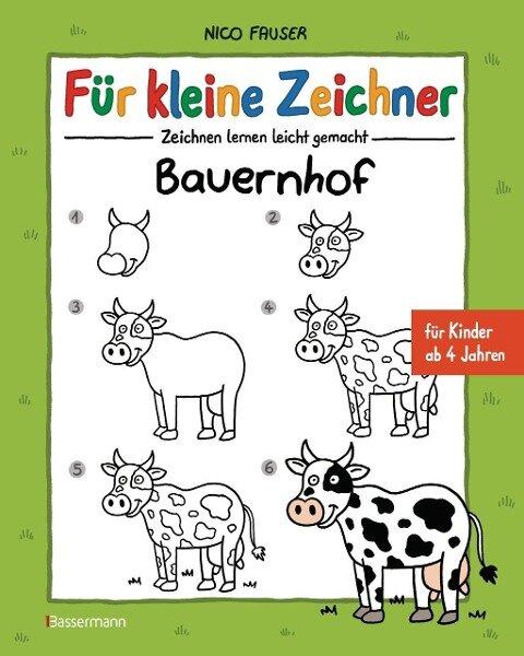 Für kleine Zeichner - Bauernhof - Nico Fauser