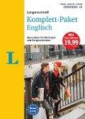 Langenscheidt Komplett-Paket Englisch - Sprachkurs mit 2 Büchern, 6 Audio-CDs, 1 DVD-ROM, MP3-Download -