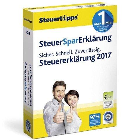 SteuerSparErklärung 2018 -