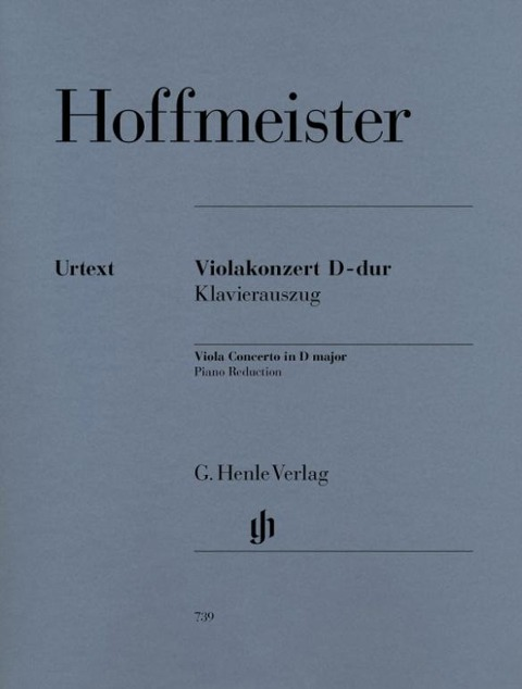 Violakonzert D-dur - Franz Anton Hoffmeister