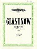 Elegie g-Moll op. 44 - Alexander Glasunow