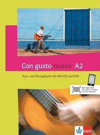 Con gusto nuevo A2. Kurs- und Übungsbuch + MP3-CD + DVD -