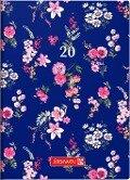 Brunnen Taschenkalender 2019 Flowers -