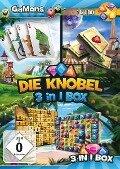 GaMons - Die Knobel 3 in 1 Box. Für Windows Vista/7/8/8.1/10 -
