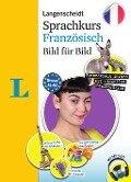 Langenscheidt Sprachkurs Französisch Bild für Bild - Der visuelle Kurs für den leichten Einstieg mit Buch und einer MP3-CD - Fabienne Schmaus