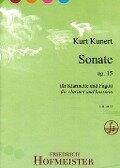 Sonate op. 15 - Kurt Kunert