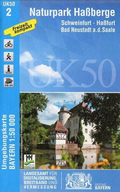 Naturpark Haßberge 1 : 50 000 (UK 50-2)