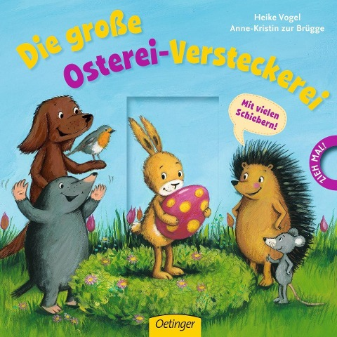 Die große Osterei-Versteckerei - Anne-Kristin Zur Brügge, Heike Vogel