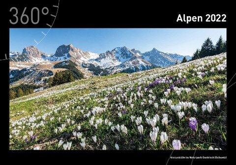 360° Alpen Premiumkalender 2022 -