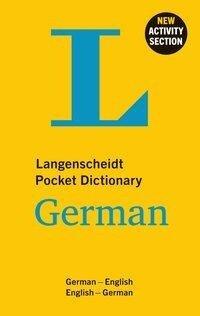Langenscheidt Pocket Dictionary German -