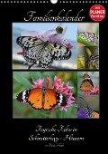 Tropische Falter in Schmetterlings-Häusern (Wandkalender 2017 DIN A3 hoch) - Diana Schröder