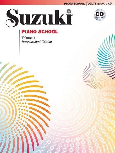Suzuki Piano School Vol. 1 New International Edition - Shinichi Suzuki