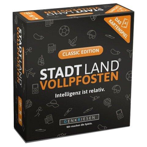 DENKRIESEN - STADT LAND VOLLPFOSTEN - Das Kartenspiel - Classic Edition -