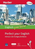 Englisch ganz leicht Perfect your English. Paket: 5 Audio-CDs + Begleitheft + MP3-Download - Hans G. Hoffmann, Marion Hoffmann