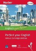 Englisch ganz leicht Perfect your English. Paket: 5 Audio-CDs + Begleitheft + MP3-Download - Hans G. Hoffmann, Marion Hoffmann