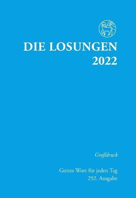 Die Losungen für Deutschland 2022 - Grossdruck, kartoniert -