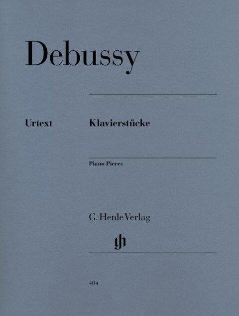 Klavierstücke - Claude Debussy