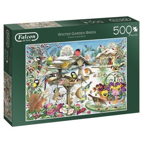 Winter Garden Birds - 500 Teile Puzzle -