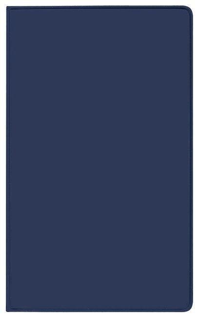 Taschenkalender Modus XL geheftet PVC blau 2019 -