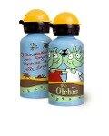 Die Olchis Alu-Trinkflasche -