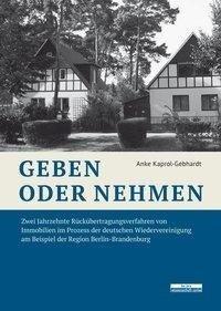 Geben oder Nehmen - Anke Kaprol-Gebhardt