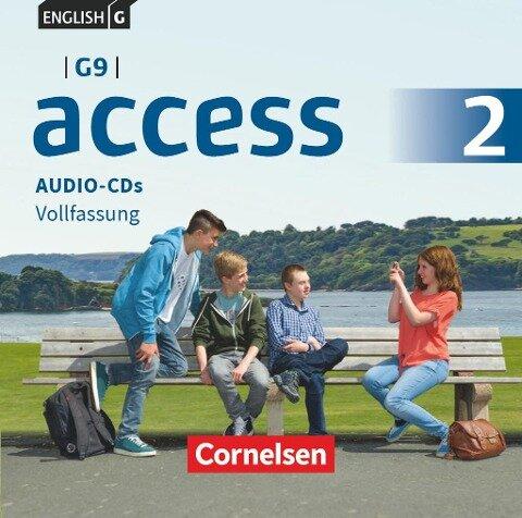 English G Access - G9 - Band 2: 6. Schuljahr - Audio-CDs -