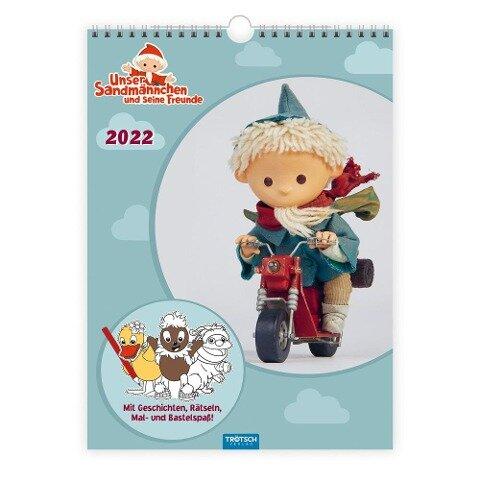Unser Sandmännchen Kinderkalender 2022 Familienkalender -