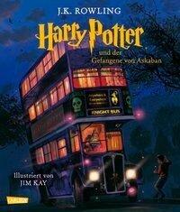 Harry Potter 3 und der Gefangene von Askaban (vierfarbig illustrierte Schmuckausgabe) - J. K. Rowling