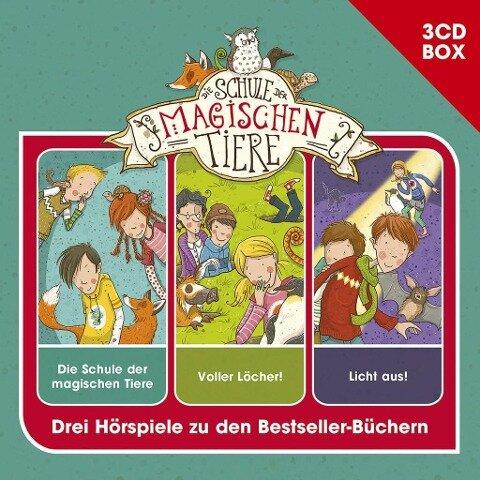 Schule der magischen Tiere - 3-CD Hspbox Vol. 1 - Die Schule der magischen Tiere