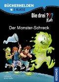Die drei ??? Kids, Bücherhelden, Der Monster-Schreck - Boris Pfeiffer, Ulf Blanck